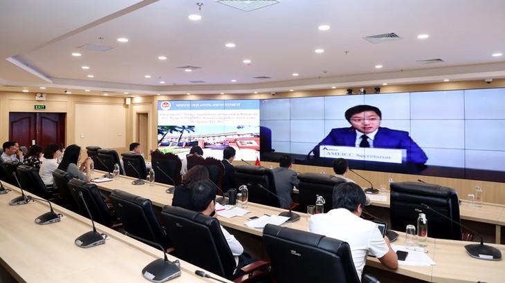 Cuộc họp Đối thoại Chính phủ - Doanh nghiệp Me Kong - Nhật Bản lần thứ 13 và cuộc họp Nhóm công tác AMEICC về phát triển hành lang Đông Tây lần thứ 1 diễn ra theo hình thức trực tuyến