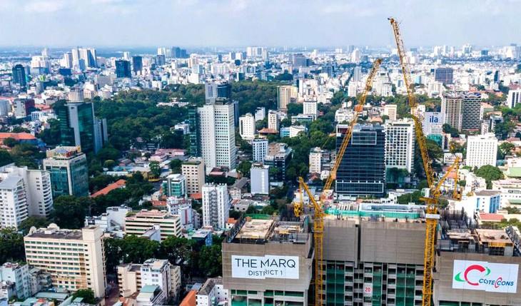 Thông qua khoản góp vốn vào Công ty CP NDC An Khang, Điền Phát Land đầu tư Dự án The MarQ tại số 29B Nguyễn Đình Chiểu, Quận 1, TP.HCM. Ảnh: St
