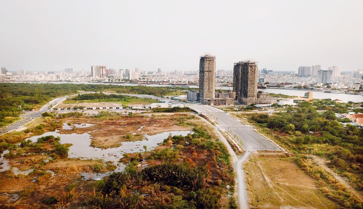 Các dự án PPP đang chuẩn bị đầu tư tại TP.HCM chủ yếu thuộc lĩnh vực hạ tầng giao thông vận tải, môi trường, chỉnh trang, phát triển đô thị. Ảnh: Lê Tiên
