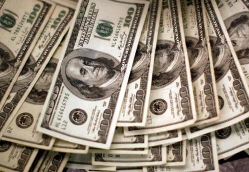 Tỷ giá trung tâm tăng 1 đồng. Ảnh: TTXVN