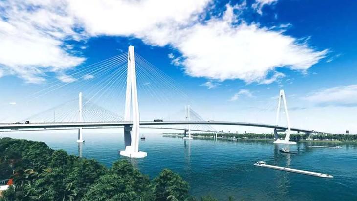 Gói thầu XL.02 sẽ được khởi công vào cuối tháng 7/2020, là gói thầu thứ 2 của Dự án cầu Mỹ Thuận 2 và đường dẫn hai đầu cầu được khởi công xây dựng. Ảnh: St