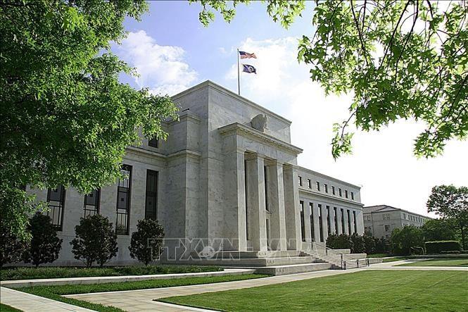 Trụ sở Cục dự trữ Liên bang Mỹ (Fed) tại Washington DC. Ảnh: AFP/TTXVN