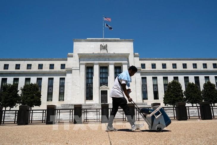 Trụ sở Cục dự trữ liên bang Mỹ ở Washington DC., ngày 29/7/2020. Ảnh: THX/TTXVN