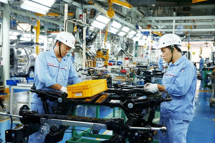 15/30 doanh nghiệp Nhật Bản được Chính phủ Nhật Bản hỗ trợ tài chính để mở rộng, đa dạng hóa chuỗi cung ứng đã chọn Việt Nam. Ảnh: Lê Tiên