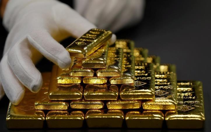 Giá vàng thế giới giảm nhẹ phiên 30/7. Ảnh: Reuters