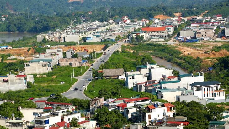 Dự án Tiểu khu đô thị mới số 16 tại TP. Lào Cai (tỉnh Lào Cai) có tổng mức đầu tư 1.334 tỷ đồng. Ảnh: Nguyễn Mạnh & LT