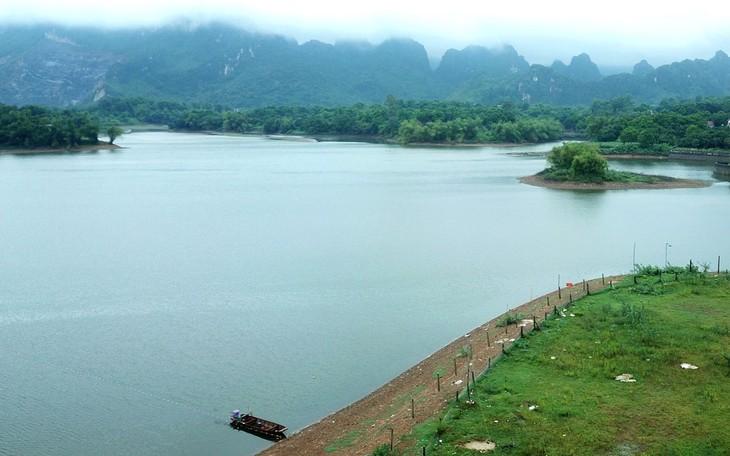 Gói thầu số 35 Xây dựng hệ thống kênh chính thuộc Dự án Hồ chứa nước Bản Lải (giai đoạn 1), tỉnh Lạng Sơn có giá gói thầu là 207,645 tỷ đồng. Ảnh minh họa: Phú An