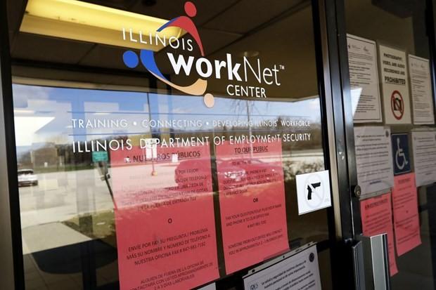 Một trung tâm việc làm tại bang Illinois. (Ảnh: AP)