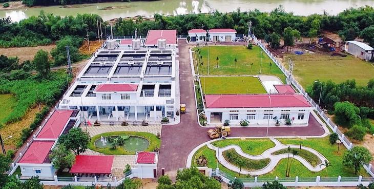 Nhà máy Xử lý nước Hà Thanh (Bình Định) - một trong nhiều công trình do Công ty CP Công nghệ Môi trường và Xây dựng Sài Gòn đầu tư xây dựng