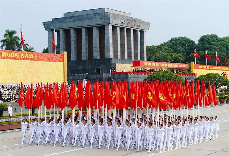 Trong bất kỳ hoàn cảnh nào, dân tộc Việt Nam cũng quyết đem tất cả sức mạnh tinh thần, tiềm lực, sinh mạng và vật chất để giữ vững quyền độc lập, tự do