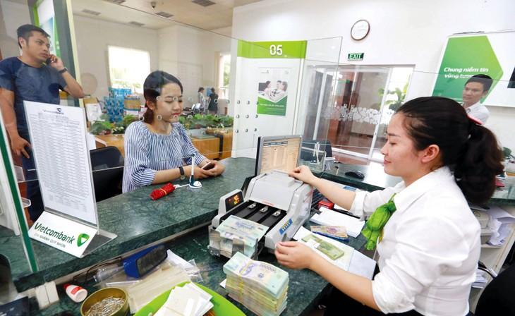 Chi phí hoạt động của Vietcombank trong quý II/2020 giảm 23% so với cùng kỳ năm ngoái. Ảnh: Trần Việt
