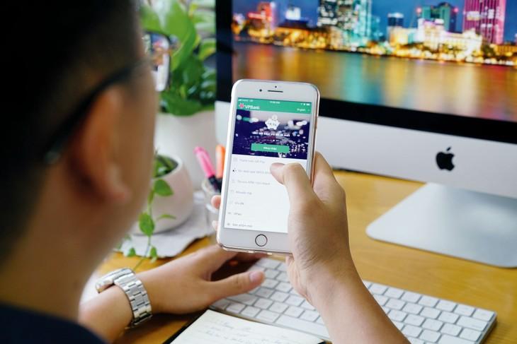 Hiệu quả số hóa của VPBank có thể thấy rõ qua lượng khách hàng giao dịch trên kênh số
