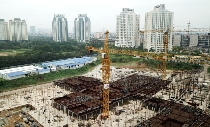 Doanh nghiệp bất động sản thiếu kênh huy động vốn trung và dài hạn cho các dự án. Ảnh: Lê Tiên
