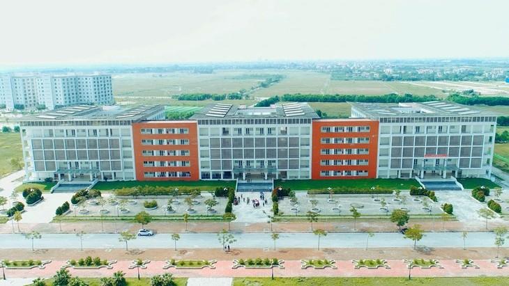 Công ty TNHH Minh Phương trúng 10 gói thầu lớn nhất tại Dự án Khu đại học Phố Hiến (Hưng Yên) với tổng giá hơn 393 tỷ đồng. Ảnh: Minh Thuận