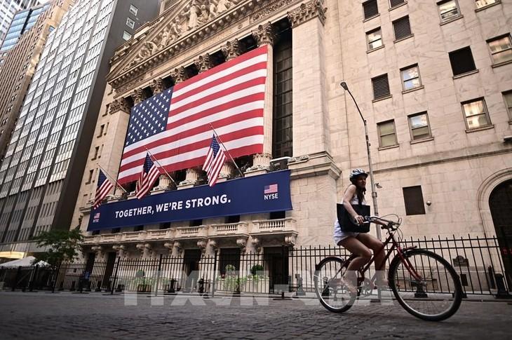 Thị trường chứng khoán Mỹ tăng điểm trong phiên 14/9. Ảnh minh họa: AFP/ TTXVN