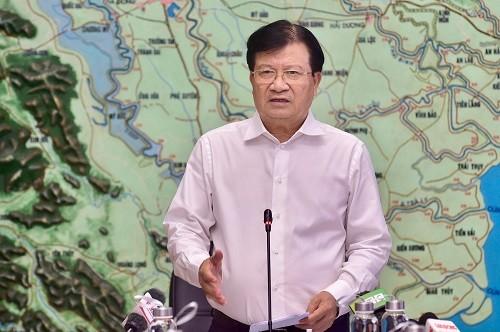 Phó Thủ tướng Trịnh Đình Dũng phát biểu tại cuộc họp - Ảnh: VGP/Đoàn Bắc
