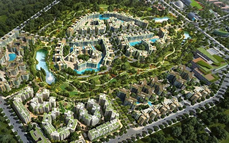 Celadon City TP.HCM là một trong hai dự án đóng góp lớn nhất cho doanh số bán hàng ở nước ngoài của Gamuda Land. Ảnh Internet