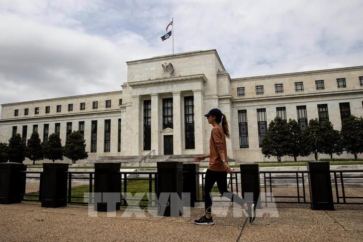 Trụ sở Ngân hàng dự trữ liên bang Mỹ (FED) tại Washington D.C., ngày 21/5/2020. Ảnh: THX/ TTXVN
