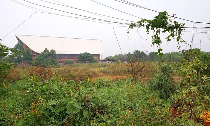 Khu đất thực hiện Dự án Tổ hợp Khu dịch vụ thương mại và du lịch Phạm Văn Đồng, TP. Huế có vị thế đẹp. Ảnh: Tấn Hùng