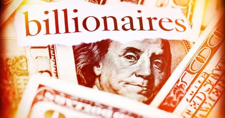Giới siêu giàu nước Mỹ kiếm thêm gần 850 tỷ USD sau nửa năm