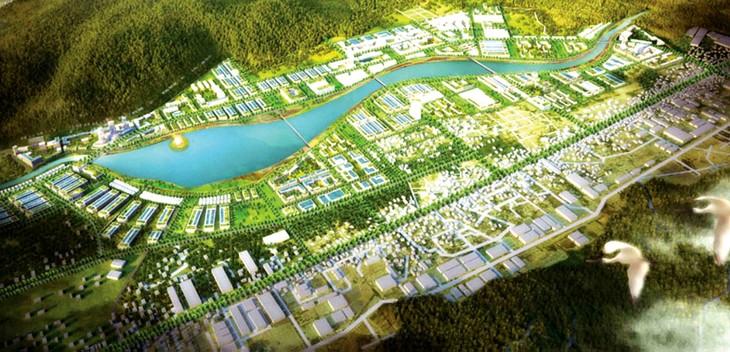 Dự án Khu đô thị Long Vân 3 có diện tích khoảng 38 ha, nằm tại phường Bùi Thị Xuân, TP. Quy Nhơn, tỉnh Bình Định. Ảnh: Long Vân