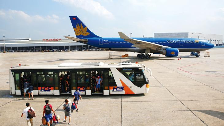 Việt Nam đã nối lại một số đường bay thương mại quốc tế với một số đối tác từ ngày 15/9. Ảnh: Lê Tiên