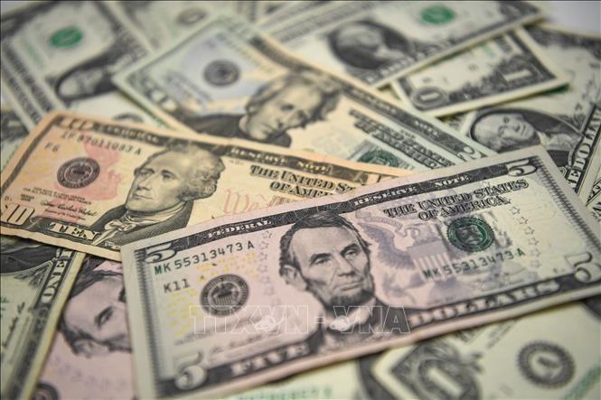 Đồng đô la Mỹ. Ảnh: AFP/ TTXVN