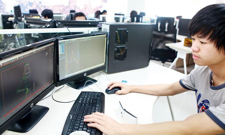 Sự xuất hiện các ngành nghề kinh doanh mới dựa trên kinh tế số đang mang lại cơ hội thị trường mới cho doanh nghiệp Việt. Ảnh: Tường Lâm