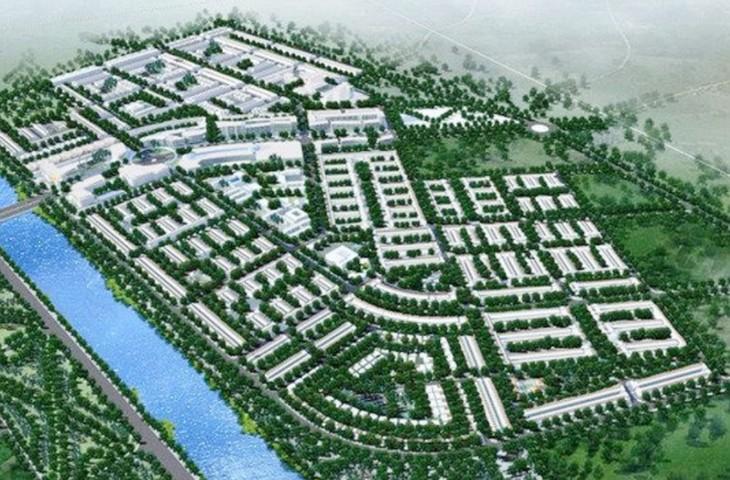 Hai dự án Khu đô thị mới Mỹ Hóa và Khu đô thị mới Mỹ An được đầu tư tại xã Mỹ Thạnh An, TP. Bến Tre, với tổng mức đầu tư hơn 1.500 tỷ đồng. Ảnh: St