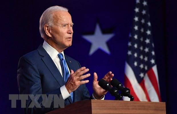Ứng cử viên đảng Dân chủ Joe Biden. (Ảnh: AFP/TTXVN)