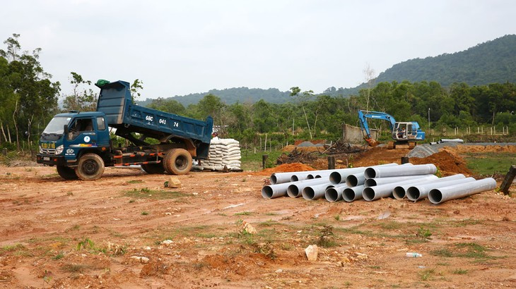HUD Kiên Giang đang sở hữu Dự án Khu dân cư và đô thị mới Suối Lớn tại ấp Suối Lớn, xã Dương Tơ, huyện Phú Quốc, tỉnh Kiên Giang. Ảnh: Thanh Sơn