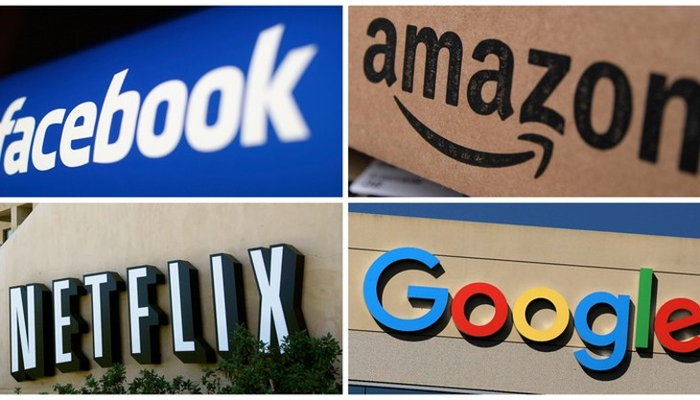 Chính phủ nhiều nước Đông Nam Á đang siết chặt thu thuế đối với các nền tảng số như Google, Netflix, Facebook, Amazon... - Ảnh: Nikkei Asia
