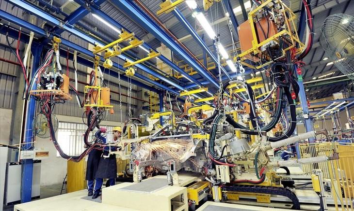 Sản xuất công nghiệp 2 tháng đầu năm 2021 tăng 7,4% so với cùng kỳ. Ảnh minh họa: Internet