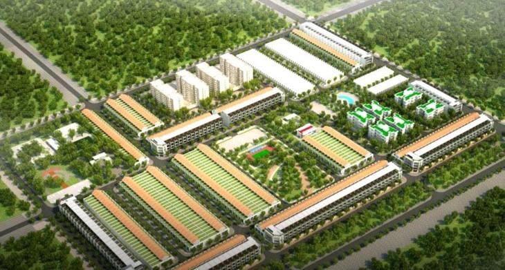 Dự án Nhà ở xã hội phường Tân Lợi, TP. Buôn Ma Thuột, tỉnh Đắk Lắk có diện tích khoảng 3,87 ha, gồm khoảng 224 căn nhà ở xã hội liền kề thấp tầng và 37 căn nhà ở thương mại liền kề. Ảnh: Phước Khánh