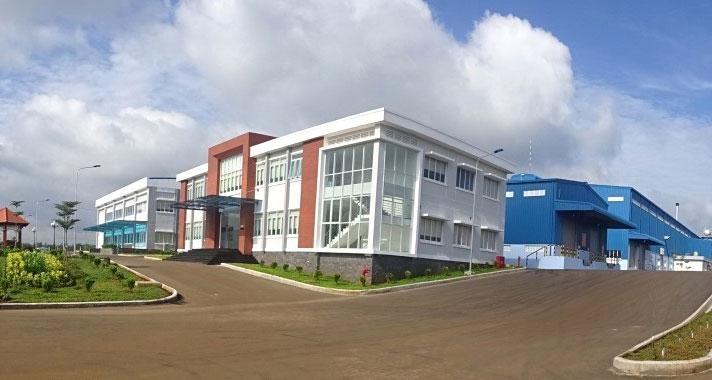 Công ty CP Chỉ sợi Cao su V.R.G SA DO từng được các cổ đông góp vốn 320 tỷ đồng để xây dựng nhà máy sợi cao su thiên nhiên. Ảnh: NC st