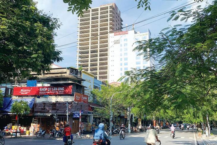 Giá trúng đấu giá 2 tòa nhà VIPCO tại quận Hồng Bàng, TP. Hải Phòng không được các bên liên quan công bố công khai. Ảnh: Tuấn Linh