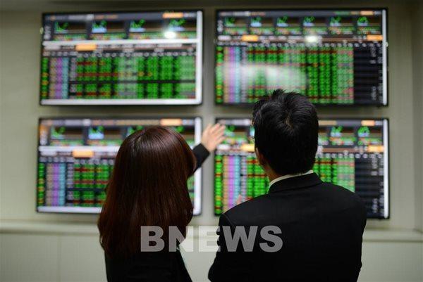 Thị trường chứng khoán Việt Nam dự báo sẽ tiếp tục tăng trưởng trong năm 2021, dù chịu ảnh hưởng từ Covid-19. Ảnh minh hoạ: TTXVN.