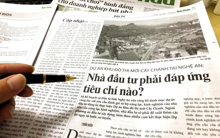 Dự án Khu đô thị mới Cây Chanh (tỉnh Nghệ An): Bỏ nhiều tiêu chí chưa phù hợp