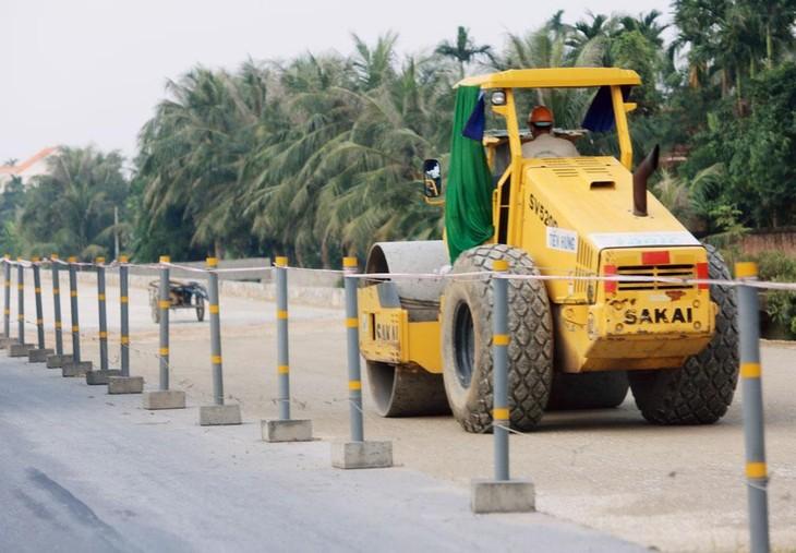 Công ty CP Vật liệu xây dựng Hùng Cường đang từng bước lấn sân sang địa bàn Nam Định với những gói thầu hàng trăm tỷ đồng. Ảnh minh họa: Nhã Chi