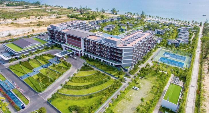 Dù chịu ảnh hưởng của Covid-19, nhưng một số dự án đại đô thị du lịch nghỉ dưỡng có chất lượng tốt, khả năng kinh doanh sinh lợi cao vẫn thu hút được nhiều nhà đầu tư