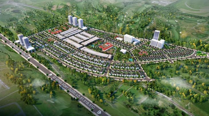 Dự án Khu đô thị The Light City với quy mô 49 ha, tổng mức đầu tư hơn 2.400 tỷ đồng
