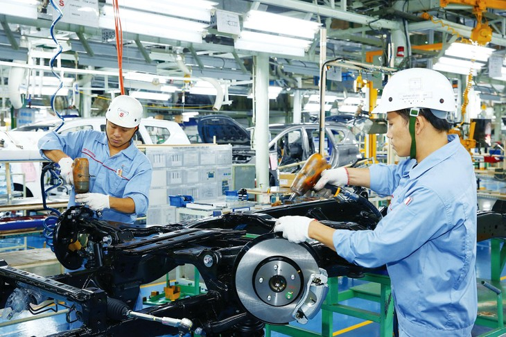 Tốc độ tăng trưởng GDP trung bình của Việt Nam có thể đạt 6,76%/năm trong giai đoạn 2021 - 2023 nếu kết hợp tốt các giải pháp thúc đẩy phục hồi kinh tế và cải cách thể chế. Ảnh: Lê Tiên