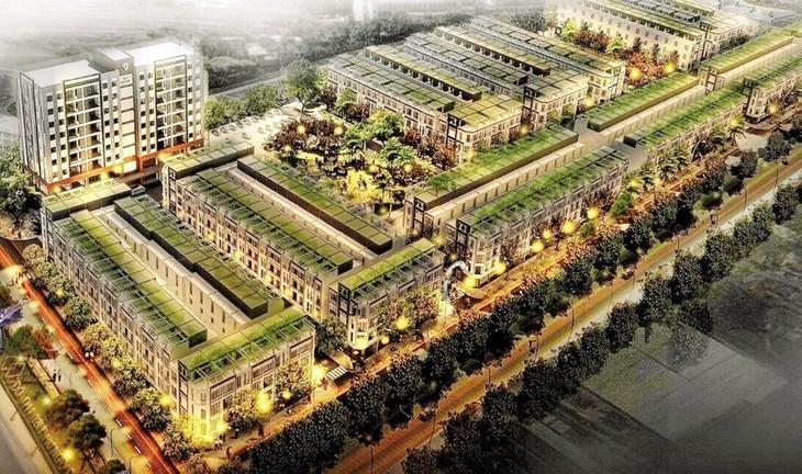 Dự án Đầu tư xây dựng khu dịch vụ thương mại tổng hợp và nhà ở khu công nghiệp Phố Nối (Hưng Yên) có quy mô dân số dự kiến khoảng 1.800 người