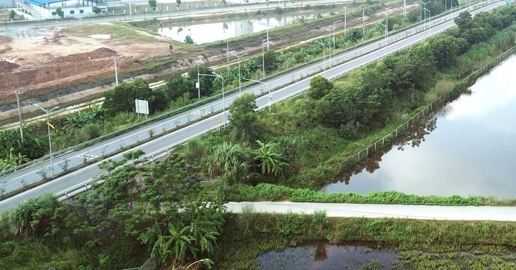 Dự án Đầu tư xây dựng đường cao tốc Tuyên Quang - Phú Thọ kết nối với cao tốc Nội Bài - Lào Cai có tổng mức đầu tư 3.112,97 tỷ đồng. Ảnh: Lê Tiên