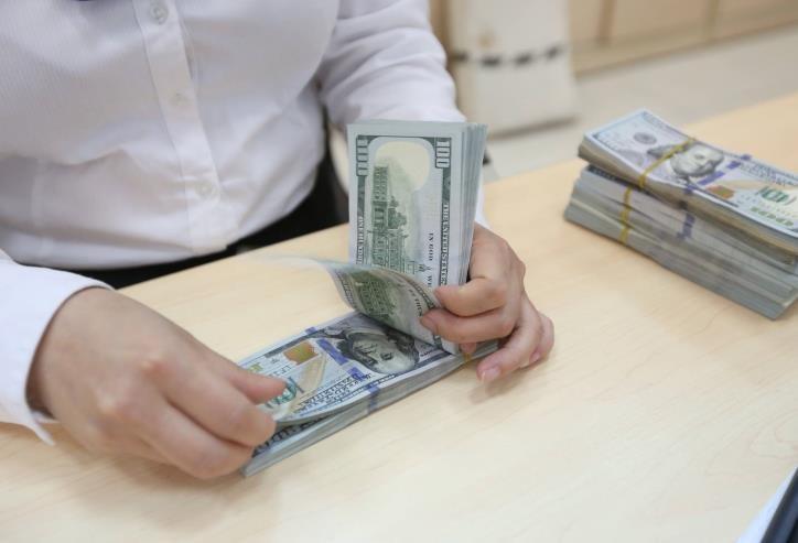 Tỷ giá trung tâm giảm 2 đồng. Ảnh minh họa: BNEWS/TTXVN