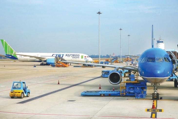 Việt Nam đã có những bước phát triển đột phá về cả quy mô và chất lượng dịch vụ hàng không. Ảnh: Lê Tiên