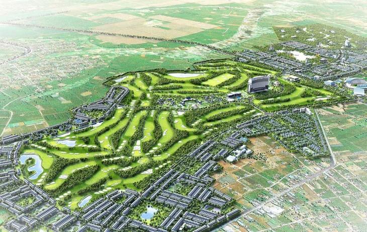 Khu biệt thự nhà ở thuộc Khu phức hợp tại huyện Đak Đoa (Gia Lai) có diện tích 105,52 ha, được quy hoạch trên địa bàn xã Glar, Tân Bình và thị trấn Đak Đoa. Ảnh: Mai Anh