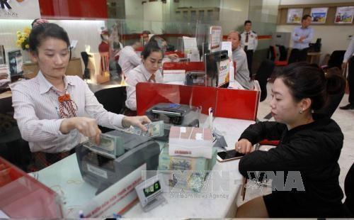 Tỷ giá trung tâm ngày 11/5 giảm tiếp 17 đồng. Ảnh: Trần Việt/TTXVN