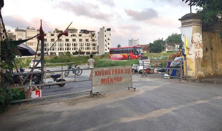 Khu đất hơn 13.000 m2 tại số 4 Trần Phú, phường Máy Tơ, quận Ngô Quyền, TP. Hải Phòng hiện là bãi đất trống. Ảnh: Tiên Giang