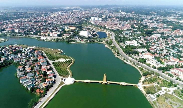 Dự án Khu đô thị mới Trưng Vương, TP. Việt Trì, tỉnh Phú Thọ có tổng diện tích 199.250 m2, sơ bộ tổng mức đầu tư là 1.135,132 tỷ đồng. Ảnh minh họa: Tiên Giang